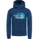 The North Face Drew Peak Pullover Hoodie Kids Blue Wing Teal